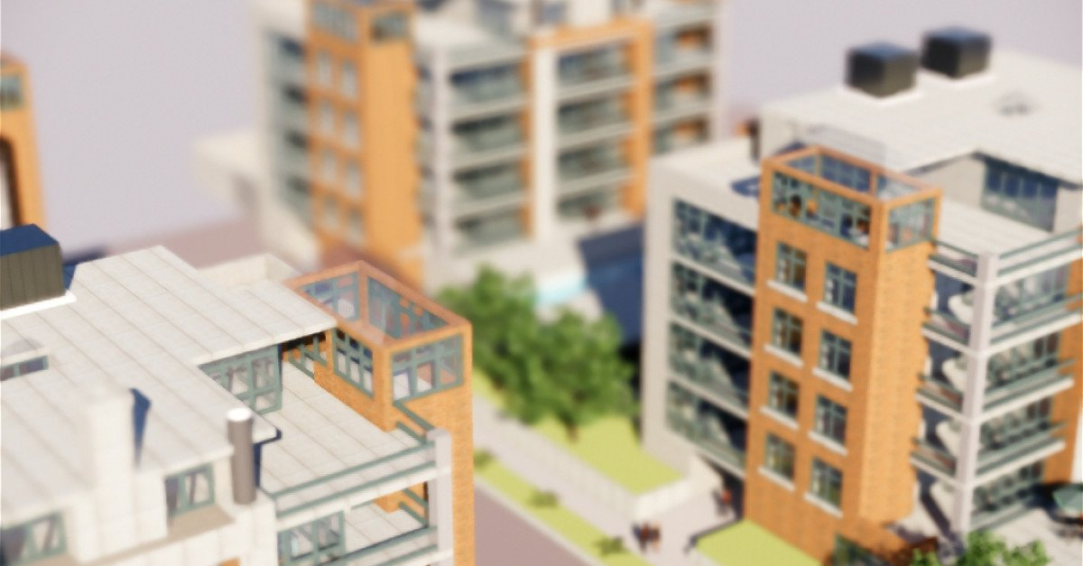 Complesso residenziale composto di 4 edifici